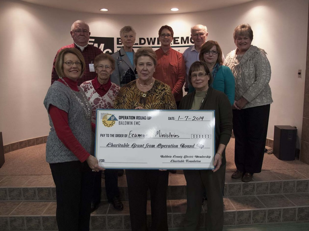 Operation Round Up Presents Grants In December Baldwin Emc