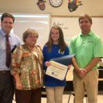 Baldwin EMC Honors Shining Star Student for December