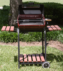 Deluxe Cart Electric Grill $155.40 + tax $176.64 + tax w/Rotisserie
