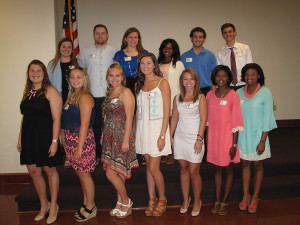 ORU Scholarship Recipients